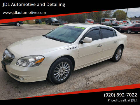 2009 Buick Lucerne for sale at JDL Automotive and Detailing in Plymouth WI