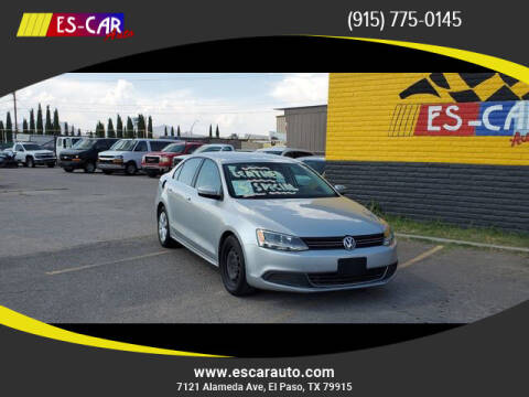 2013 Volkswagen Jetta for sale at Escar Auto - 9809 Montana Ave Lot in El Paso TX