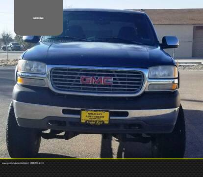 2002 GMC Sierra 2500HD for sale at G.K.A.C. in Twin Falls ID