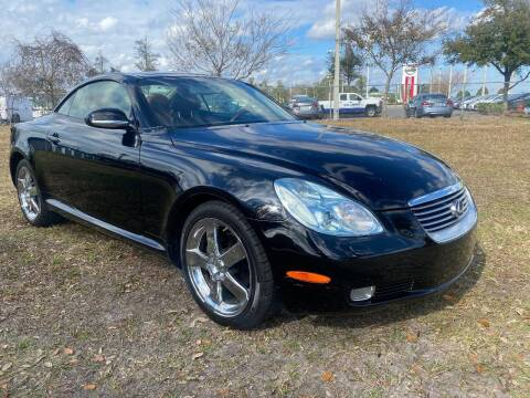 2002 Lexus SC 430 for sale at NETWORK TRANSPORTATION INC in Jacksonville FL
