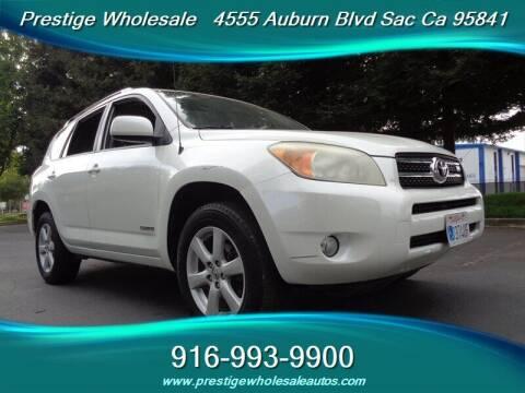 2008 Toyota RAV4 for sale at Prestige Wholesale in Sacramento CA