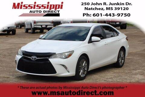 2015 Toyota Camry for sale at Auto Group South - Mississippi Auto Direct in Natchez MS