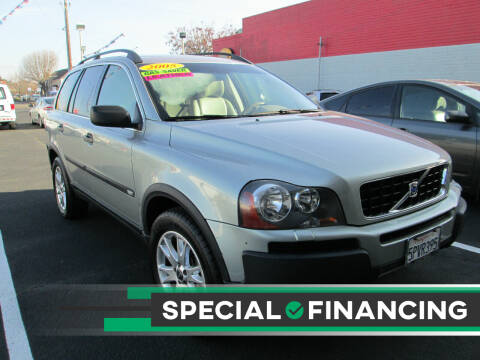 2005 Volvo XC90 for sale at Luxe Auto Sales in Modesto CA