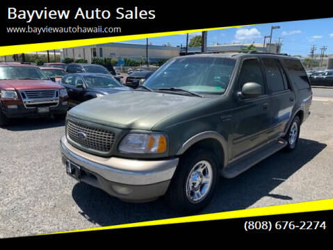 2000 Ford Expedition for sale at Bayview Auto Sales in Waipahu HI
