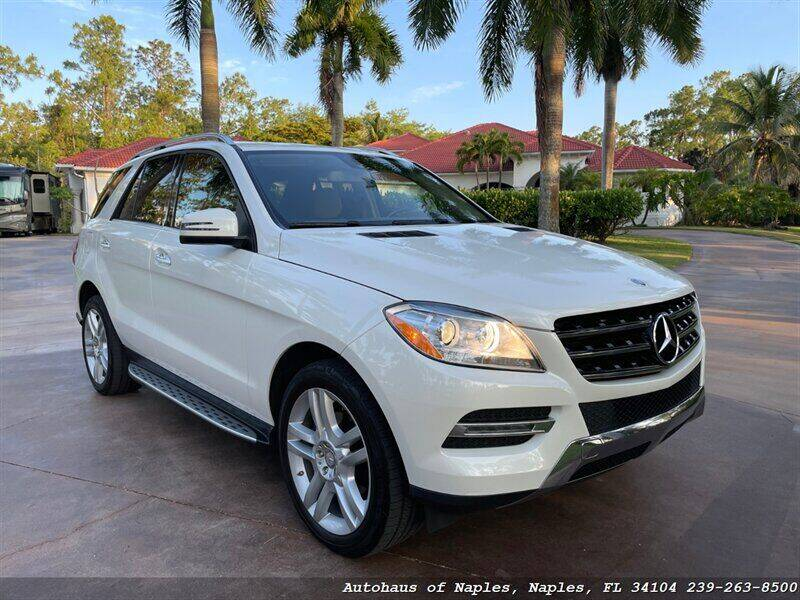 2014 Mercedes-Benz M-Class for sale at Autohaus of Naples in Naples FL