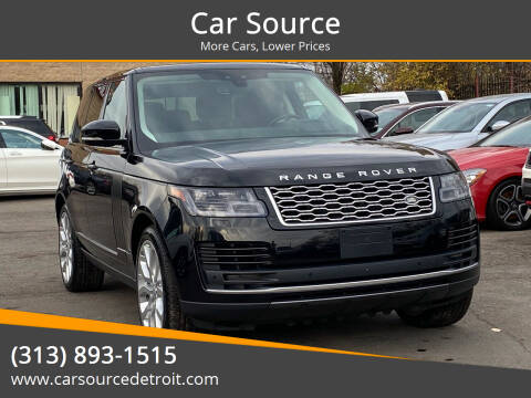 2018 Land Rover Range Rover for sale at Car Source in Detroit MI