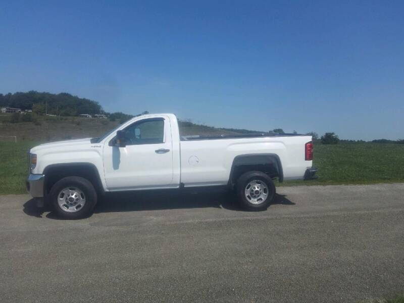 2017 GMC Sierra 2500HD for sale at JJ's Automotive - Rebuildable Inventory in Mt.Pleasant PA