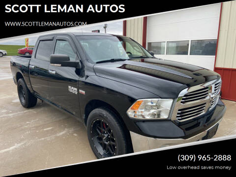2014 RAM Ram Pickup 1500 for sale at SCOTT LEMAN AUTOS in Goodfield IL