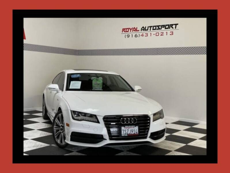 2012 Audi A7 for sale at Royal AutoSport in Sacramento CA