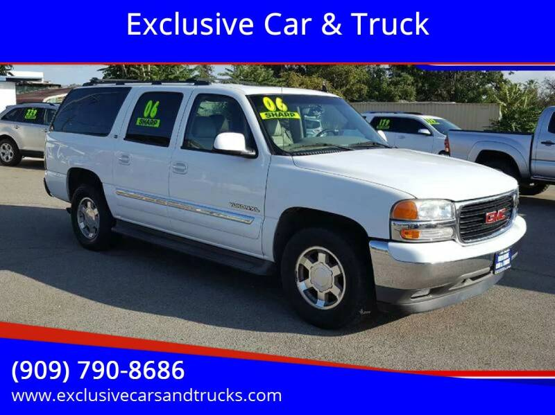 2006 GMC Yukon XL for sale at Exclusive Car & Truck in Yucaipa CA