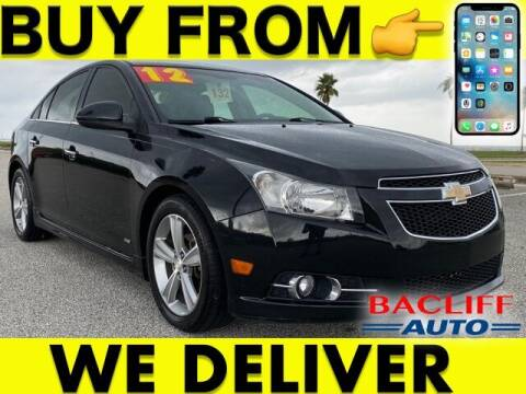 2012 Chevrolet Cruze for sale at Bacliff Auto in Bacliff TX