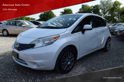 2014 Nissan Versa Note for sale at American Auto Center in Austin TX