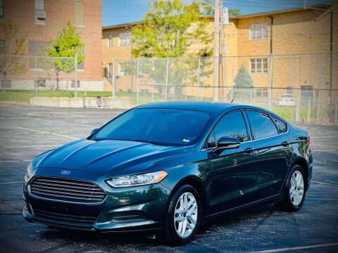2016 Ford Fusion for sale at ARCH AUTO SALES in Saint Louis MO