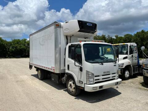 2015 Isuzu NPR REFRIGEARTED for sale at DEBARY TRUCK SALES in Sanford FL