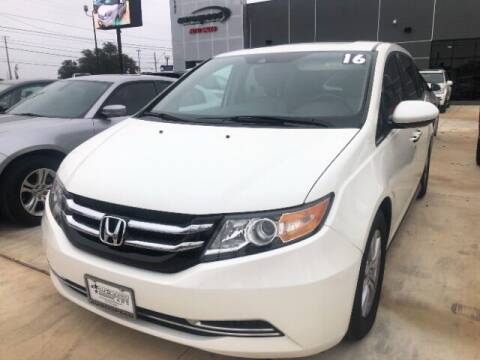 2016 Honda Odyssey for sale at Eurospeed International in San Antonio TX