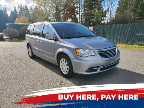 2015 Chrysler Town and Country for sale at Car Craft Auto Sales Inc in Lynnwood WA