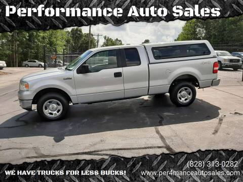 2005 Ford F-150 for sale at Performance Auto Sales in Hickory NC