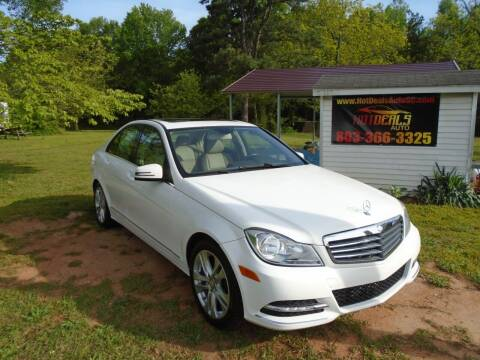 2013 Mercedes-Benz C-Class for sale at Hot Deals Auto LLC in Rock Hill SC