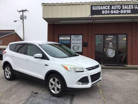 2013 Ford Escape for sale at Guidance Auto Sales LLC in Columbia TN