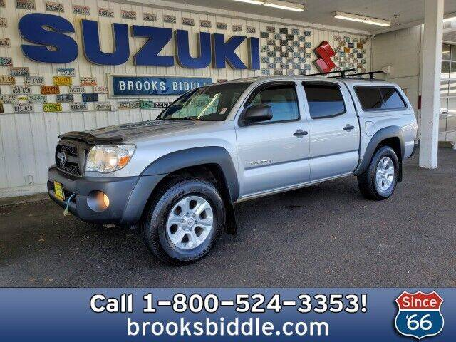 2011 Toyota Tacoma for sale at BROOKS BIDDLE AUTOMOTIVE in Bothell WA