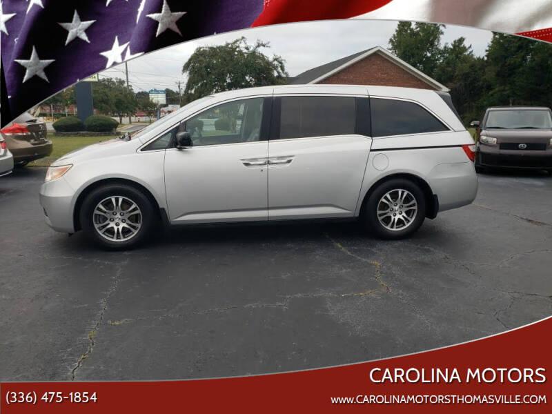 2013 Honda Odyssey for sale at CAROLINA MOTORS in Thomasville NC