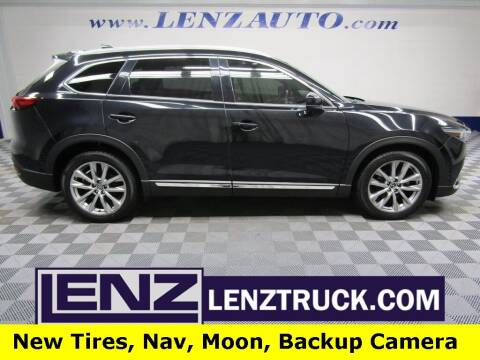 2016 Mazda CX-9 for sale at LENZ TRUCK CENTER in Fond Du Lac WI