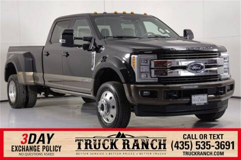 2017 Ford F-450 Super Duty for sale at Truck Ranch in Logan UT