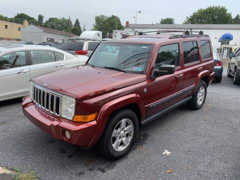 2007 Jeep Commander for sale at Harrisburg Auto Center Inc. in Harrisburg PA
