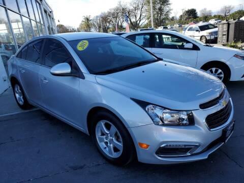2015 Chevrolet Cruze for sale at Sac River Auto in Davis CA