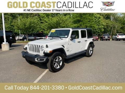 2020 Jeep Wrangler Unlimited for sale at Gold Coast Cadillac in Oakhurst NJ
