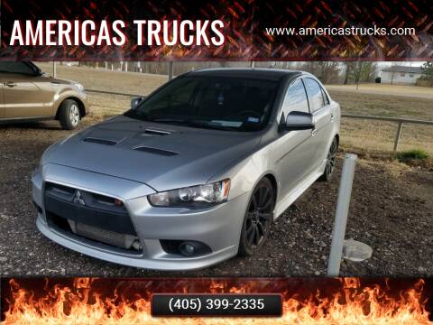 2011 Mitsubishi Lancer for sale at Americas Trucks in Jones OK