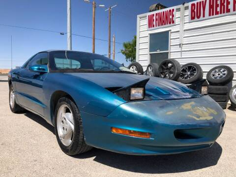 1994 Pontiac Firebird for sale at Eastside Auto Sales in El Paso TX
