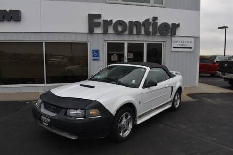 2002 Ford Mustang for sale at Frontier Motors Automotive, Inc. in Winner SD