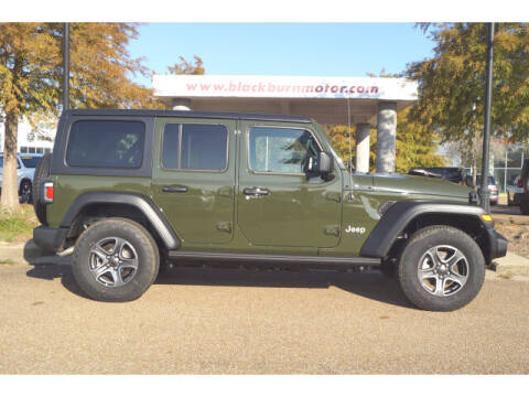2021 Jeep Wrangler Unlimited for sale at BLACKBURN MOTOR CO in Vicksburg MS