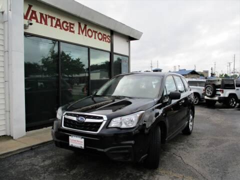 2018 Subaru Forester for sale at Vantage Motors LLC in Raytown MO