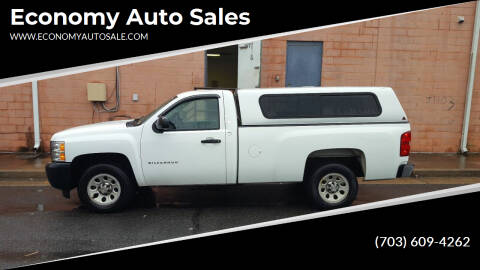 2012 Chevrolet Silverado 1500 for sale at Economy Auto Sales in Dumfries VA