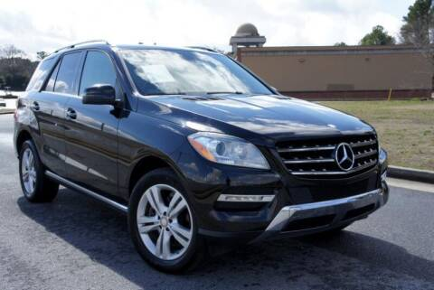 2013 Mercedes-Benz M-Class for sale at CU Carfinders in Norcross GA