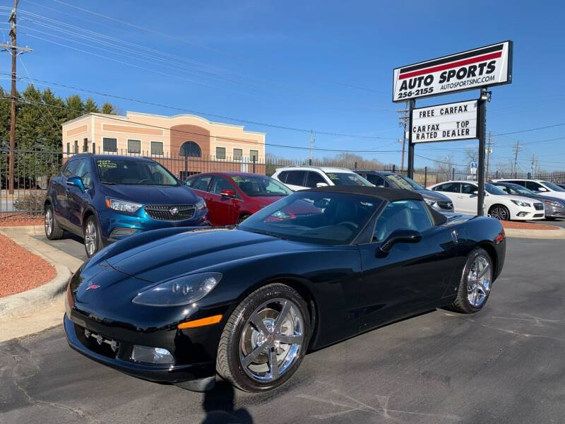 2008 Chevrolet Corvette for sale at Auto Sports in Hickory NC