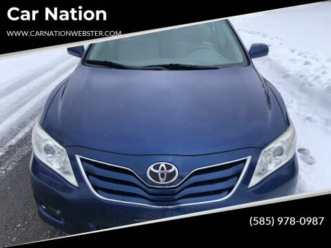 2010 Toyota Camry for sale at Car Nation in Webster NY