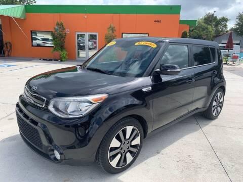 2014 Kia Soul for sale at Galaxy Auto Service, Inc. in Orlando FL