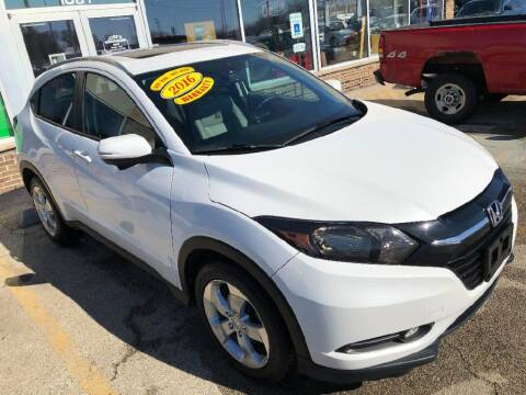 2016 Honda HR-V for sale at Jose's Auto Sales Inc in Gurnee IL