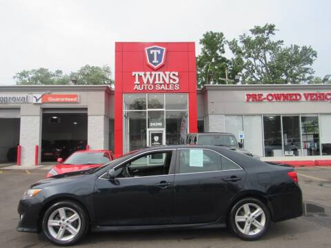 2012 Toyota Camry for sale at Twins Auto Sales Inc in Detroit MI