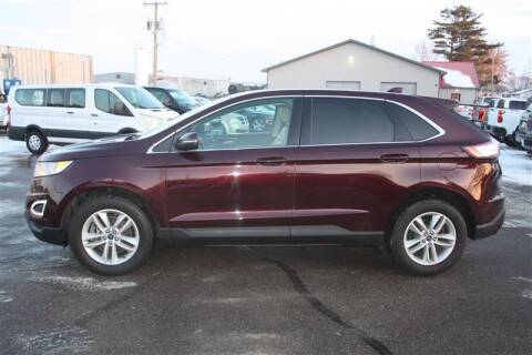 2018 Ford Edge for sale at SCHMITZ MOTOR CO INC in Perham MN