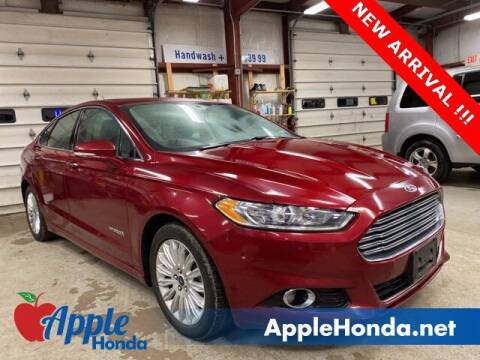 2015 Ford Fusion Hybrid for sale at APPLE HONDA in Riverhead NY