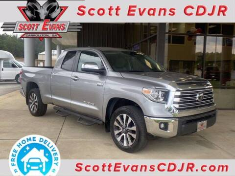 2020 Toyota Tundra for sale at SCOTT EVANS CHRYSLER DODGE in Carrollton GA