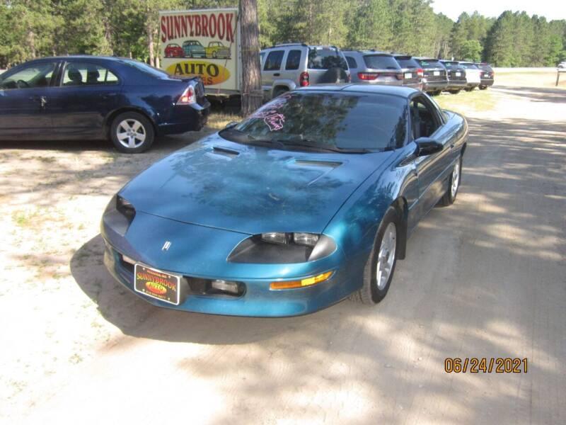 1995 Chevrolet Camaro for sale at SUNNYBROOK USED CARS in Menahga MN