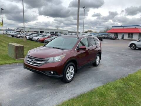 2013 Honda CR-V for sale at BORGMAN OF HOLLAND LLC in Holland MI