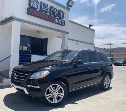 2014 Mercedes-Benz ML350 for sale at Fastrack Auto Inc in Rosemead CA