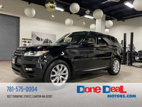 2015 Land Rover Range Rover Sport for sale at DONE DEAL MOTORS in Canton MA