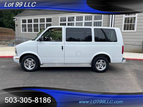 2005 Chevrolet Astro for sale at LOT 99 LLC in Milwaukie OR